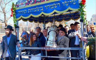 Pennsylvanie : inauguration d'un nouveau Sefer Torah pour le Beth Habad de l'université Drexel à Philadelphie