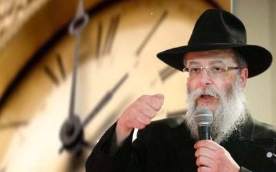 """C'est après ce Chabbat que nous passerons en heure d'hiver :  """"Lumière sur la nuit!"""" par Rav Haim Nisenbaum"""