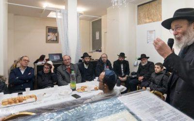 """EN IMAGES. Un """"Erev Habad"""" organisé samedi soir par le Beth Habad réunit toute la communauté d'Alfortville"""