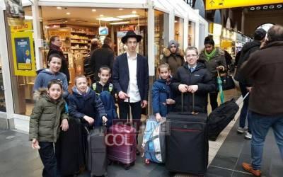 Allemagne : 21 enfants de Chlouhim d'Allemagne participent à un Chabbaton  à Francfort