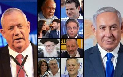 Secondes élections en Israël en six mois : 6 394 030 électeurs israéliens votent dans 10 885 bureaux de vote à travers le pays