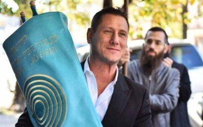Un nouveau Sefer Torah a été inauguré par lafamilleJaffede Crown Heights