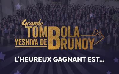 Le gagnant de la tombola au profit de la Yéchiva Loubavitch de Brunoy