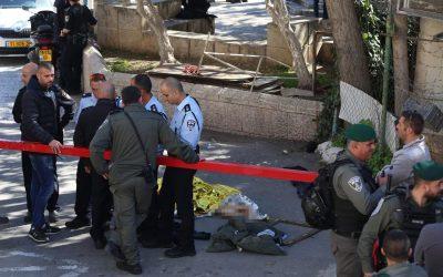 Nouvel attentat à Jérusalem : Un garde-frontière légèrement blessé dans une fusillade. Le terroriste a été abattu