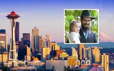 Le Rav Moshe Wolff et son épouse Devorah, nouveaux Chlou'him de la banlieue de Seattle, dans l'Etat de Washington