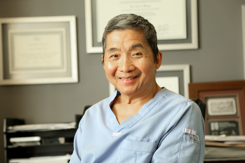 hair transplant surgeon Jerry wong of Hasson and Wong