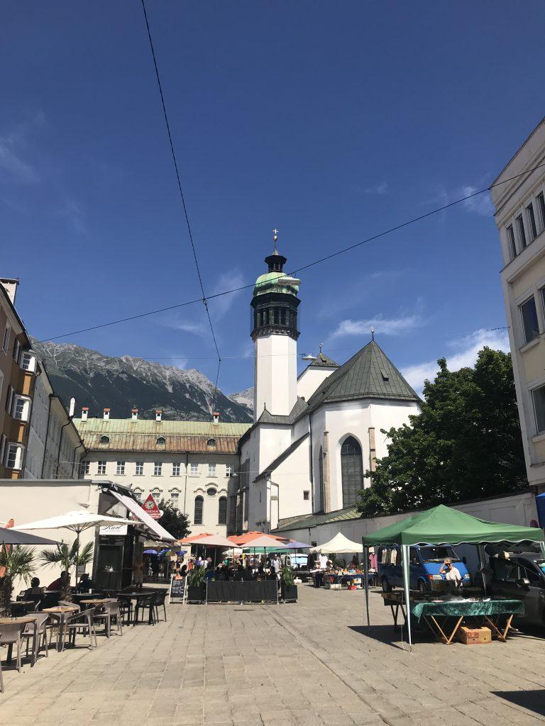 iglesia imperial de innsbruck