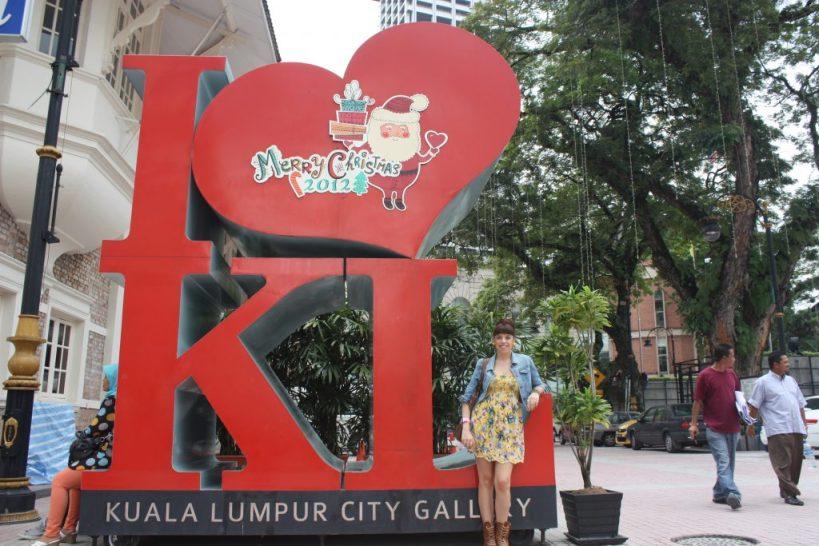 Kuala Lumpur City Gallery I love KL sign