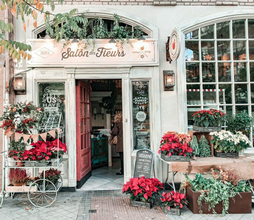 Cafeterías bonitas en Madrid