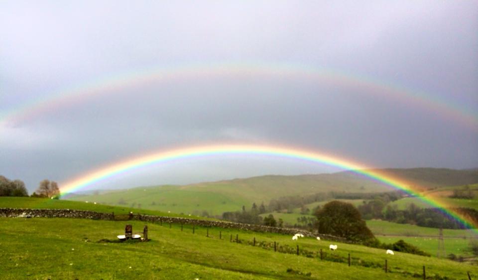 Teviothead Double Rainbow. Photo by Pat Douglas