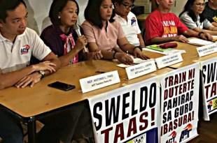 ACT Teachers protest TRAIN salary increase