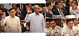 bong go senate Delfin Lorenzana Ronald Mercado Allan Peter Cayetano Vitalliano Aguire II