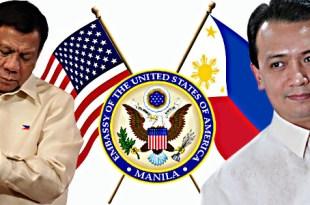 Rodrigo Duterte Antonio Trillanes US Embassy Manila