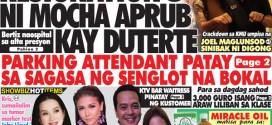 Hataw Frontpage Resignation ni Mocha aprub kay Duterte
