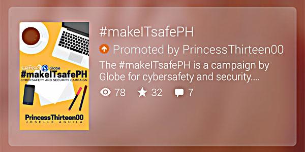 Globe Wattpad #makeITsafePH PrincessThirteen00