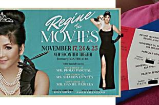 Regine at the Movies