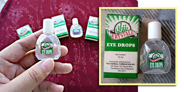 Krystall Herbal Eye Drops