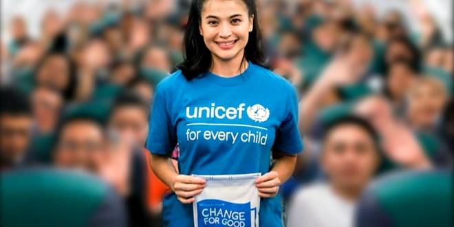 Anne Curtis UNICEF