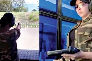 Julia Montes Target shooting