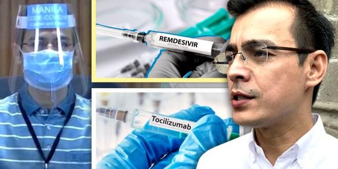 Isko Moreno, Face Shield, Remdesivir, Tocilizumab