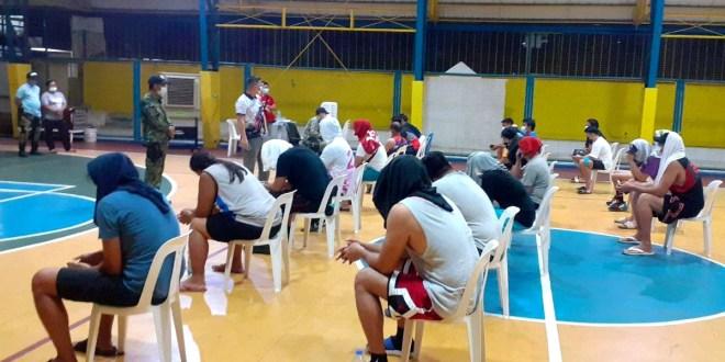 Owner, caretaker, 21 'basketbolista' sa Pasig inaresto (Sports arena binuksan kahit MECQ)