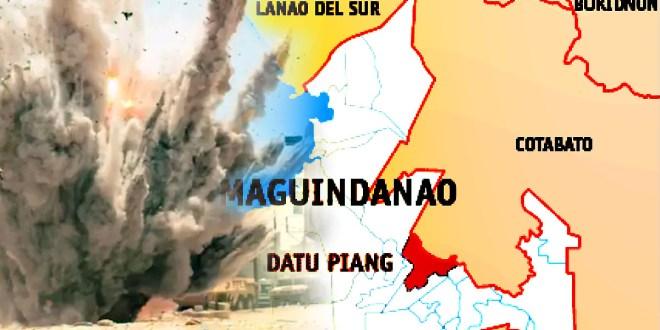 Datu Piang, Maguindanao Explosion