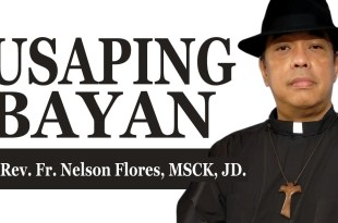 Usaping Bayan ni Rev. Fr. Nelson Flores, MSCK, JD