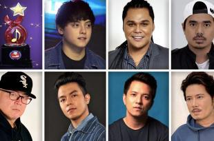 Daniel Padilla, Garrett Bolden, Gloc 9, John Rendez, Sam Mangubat, TJ Monterde, Janno Gibbs, PMPC, Star Awards For Music