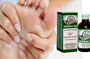 Krystall Herbal Oil, Foot Cramps