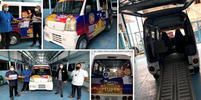 Handog ng Bayaning Tsuper (BTS): Libreng service vehicle para sa Cebu City PWDs