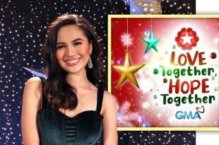 Julie Anne San Jose, GMA Christmas Station ID 2021