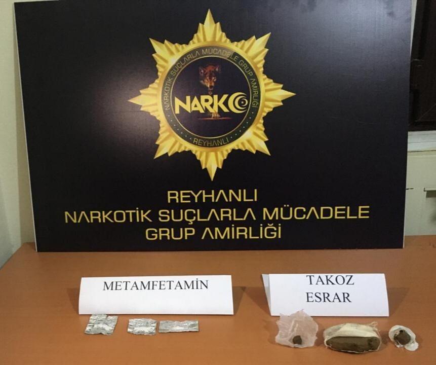 Reyhanlı'da uyuşturucu operasyonu: 3 gözaltı