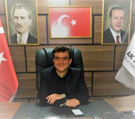 AK Parti Samandağ İlçe Başkanı Özdemir'in Covid-19 testi pozitif çıktı