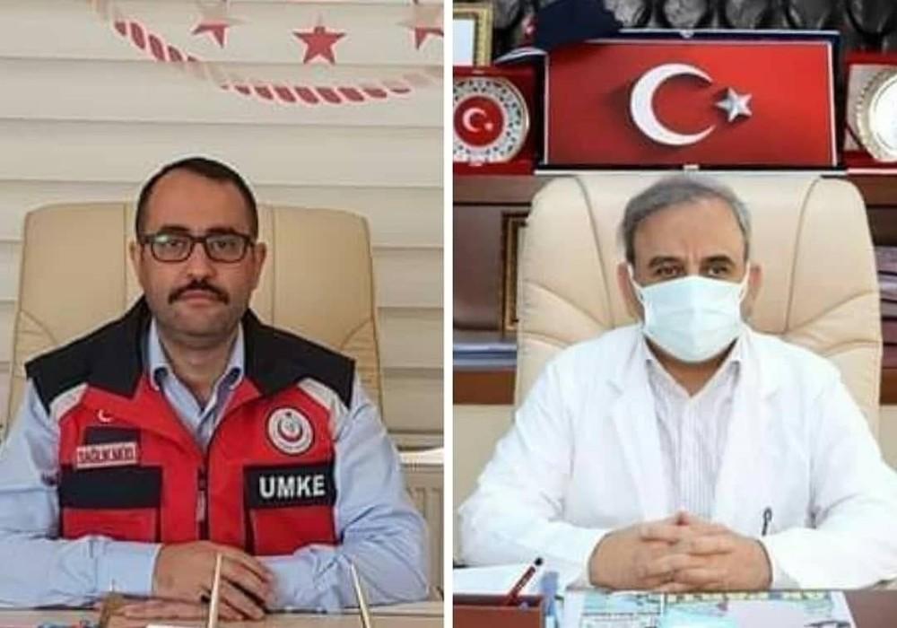 Hatay Sağlık İl Müdürü ve Devlet Bölge Hastanesi Başhekimi korona virüse yakalandı