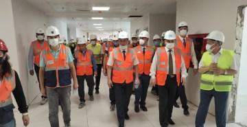 AB desteğiyle Hatay'da inşa edilen hastanede sona geliniyor