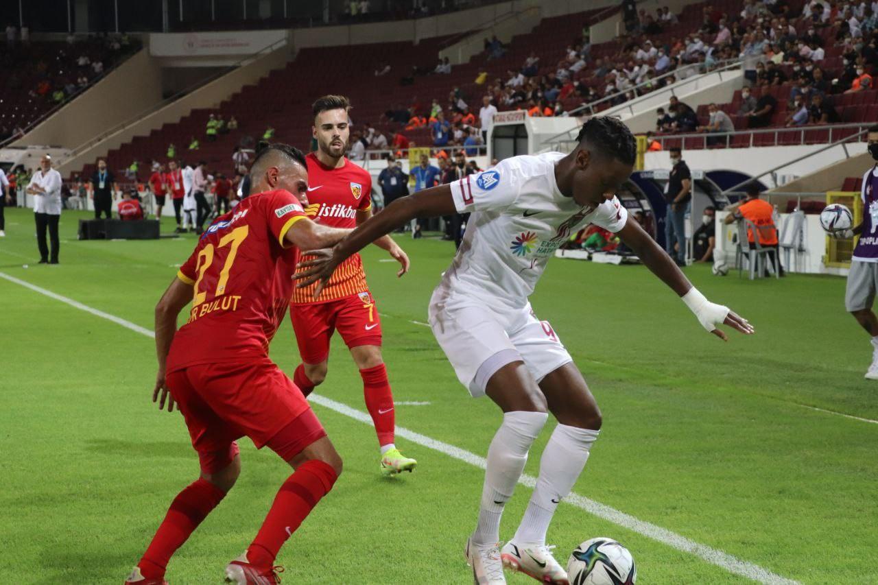 Süper Lig: A. Hatayspor: 2 – Kayserispor: 1 (Maç sonucu)