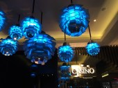 Pretty lights at Melbourne Casino