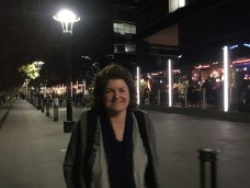 Southbank at night in Melbourne