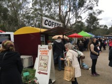 Coffee stall Warrandyte Market
