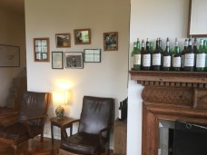 Pictures on wall Yarra Yering Vinery