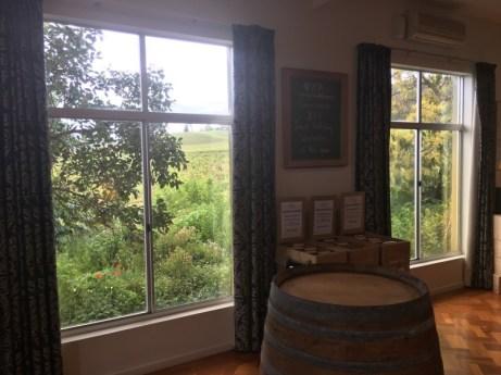 Yarra Yering Vinery Wine Tasting Views