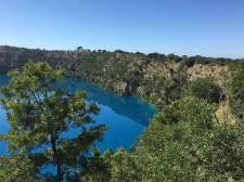 Blue Lake view Mount Gambier