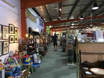 Mill Market stalls