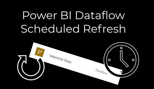 Power BI – Scheduled Refresh for your Dataflow