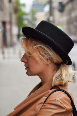 kapelusz cylinder alice czarny