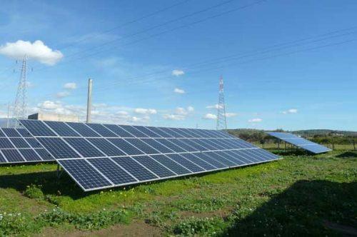 Sistema moduli fotovoltaico tradizionale