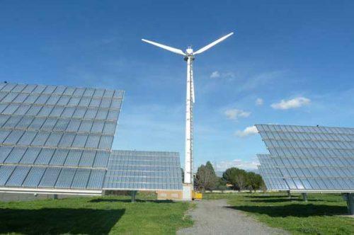 impianto fotovoltaico e minieolico