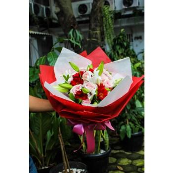 Bunga Lily Angelina Hatiku Florist