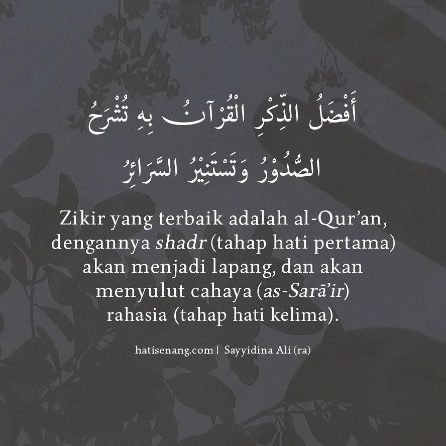 Ucapan Sayyidina Ali Tentang Al-Qur'an – 001