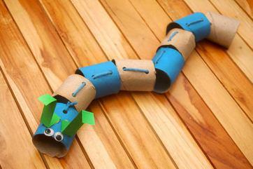18 caterpillar paper roll crafts